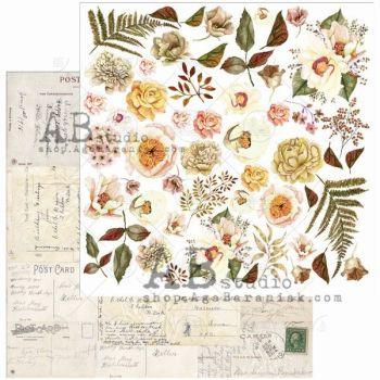"Elements - Scrapbooking Paper 12 x 12"" - Beautiful Things"