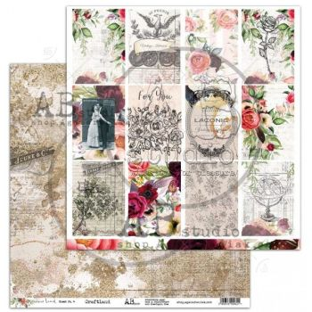 """Never-never land"" Scrapbooking Paper 12 x 12""- sheet 4 - Craftland"