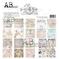 """""""Somewhere"""" Scrapbooking Paper 12 x12"""" + 1 Bonus Sheet Set"""
