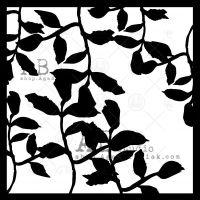 Stencil ID-208 leaves