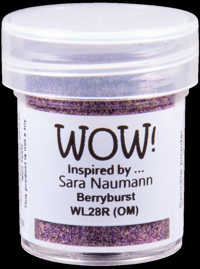 WOW Embossing Powder WL28 Berryburst *Sara Naumann Exclusive*