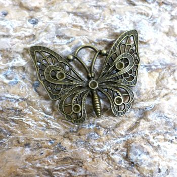 Bronze Butterfly Charm (C150)