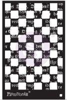 Prima Finnabair Stencil - Mind Games