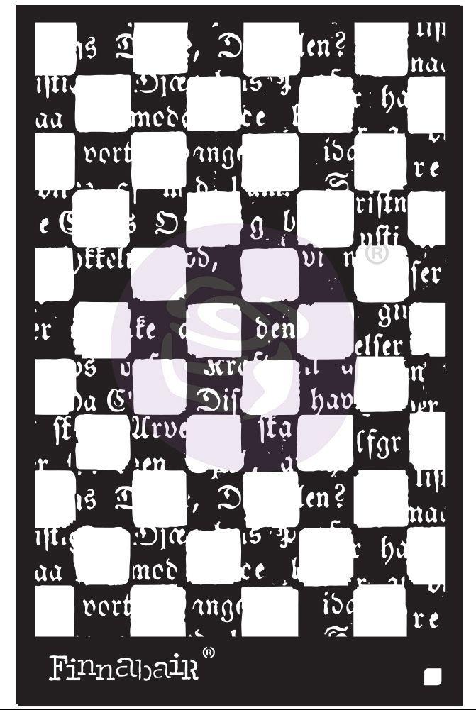 Finnabair Stencil - Mind Games