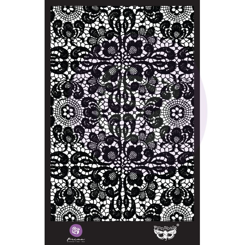 Finnabair Stencil - Ornate Lace