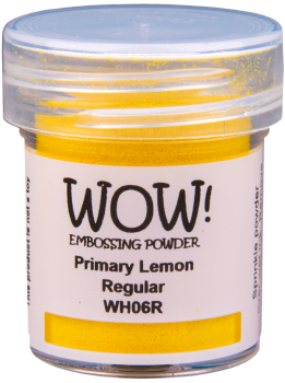 WOW Embossing Powder Primary - WH06 Lemon