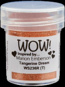 WOW Embossing Glitter - WS236 Tangerine Dream