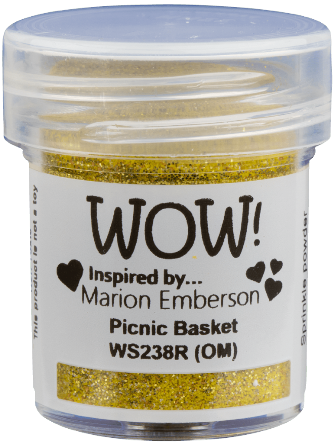 WOW Embossing Glitter - WS238 Picnic Basket