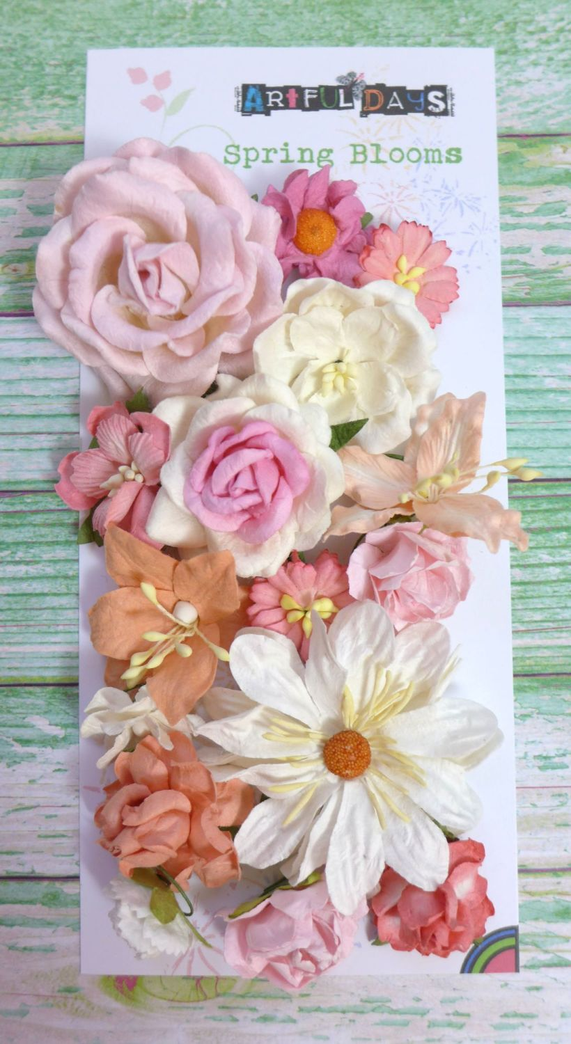 Spring Blooms - Mulberry Paper - Sweet Spring