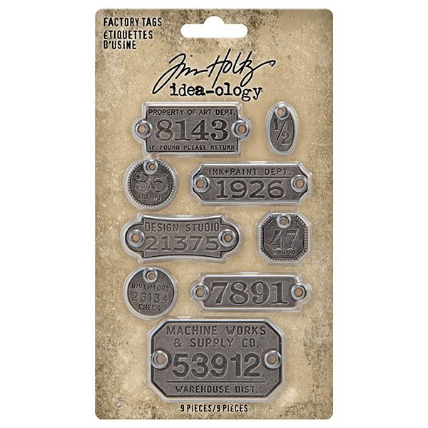 Idea-ology Tim Holtz Factory Tags (TH94039)