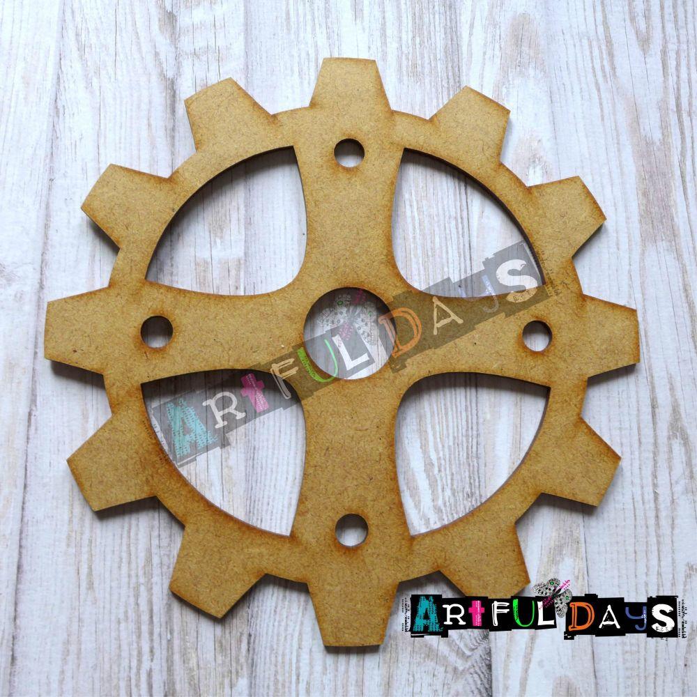 Artful Days MDF -X  Large Cog/Gear 15cm (ADM030)