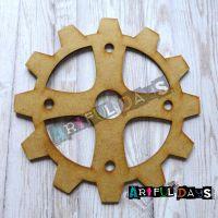 Artful Days MDF - Cog/Gear  X  Large 15cm (ADM030)