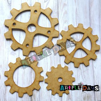 Artful Days MDF - Large Cog/Gear Full Set