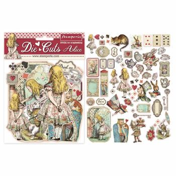 Stamperia Alice Die Cuts (DFLDC07)