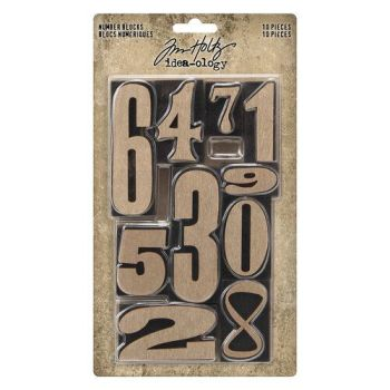 Tim Holtz Number Blocks (TH94037)