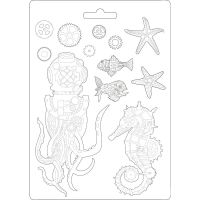 Stamperia Sea World - Soft Mould A4 (K3PTA464)