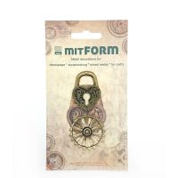 mitFORM Assembly Padlocks Metal Embellishments (MITS002)