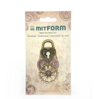 mitFORM Assembly Padlocks Metal Embellishments (MITS002)