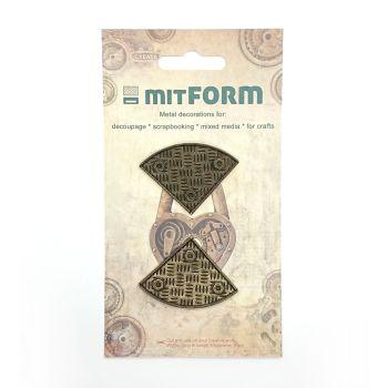 mitFORM Corners 4 Metal Embellishments (MITS019)
