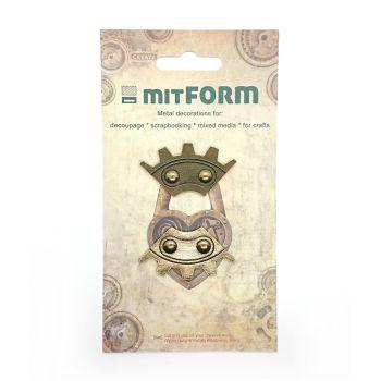 mitForm Corners 8 Metal Embellishments (MITS023)