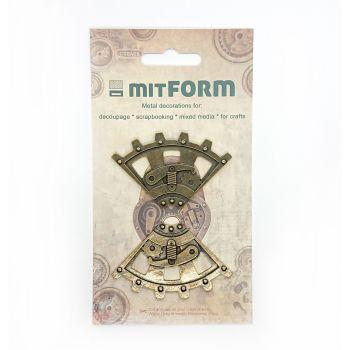 mitFORM Corners 3 Metal Embellishments (MITS018)
