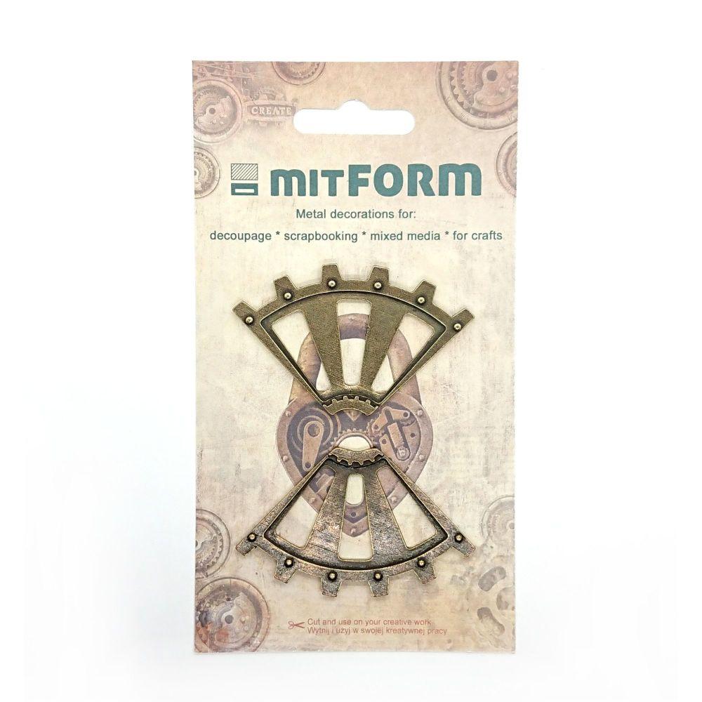 mitFORM Corners 2 Metal Embellishments (MITS017)