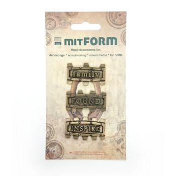 mitFORM Frame 6 Metal Embellishments (MITS030)