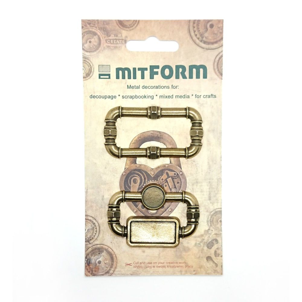 mitFORM Frame 1 Metal Embellishments (MITS025)