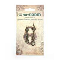 mitFORM Clock 4 Metal Embellishments (MITS012)
