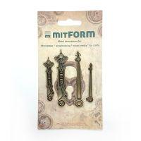 mitFORM Clock 2 Metal Embellishments (MITS010)