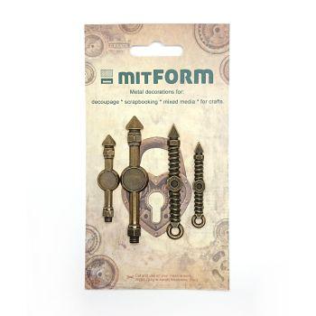 mitFORM Clock 1 Metal Embellishments (MITS009)