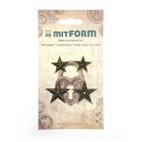 mitFORM Christmas 2 Metal Embellishments (MITS004)