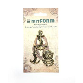 mitFORM Marine 3 Metal Embellishments (MITS041)