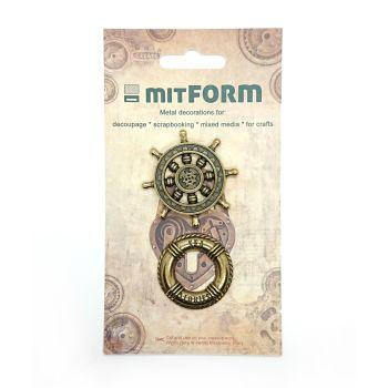 mitFORM Marine 2 Metal Embellishments (MITS040)