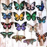 Large Butterfly Stickers (PA022)