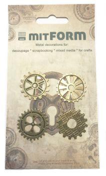 mitFORM Gear 30 Metal Embellishments (MITS034)
