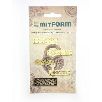 mitFORM Corners 11 Metal Embellishments (MITS015)