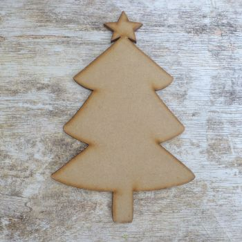 MDF Christmas Tree Large (003)