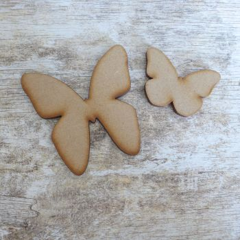 MDF Butterfly pair (006)