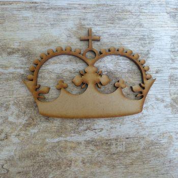 MDF Large Royal Crown (011)