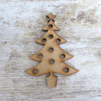 MDF Holy Christmas Tree (029)