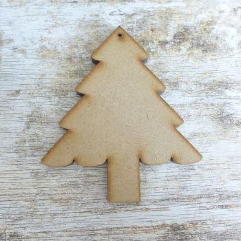 MDF Pine Christmas Tree (032)