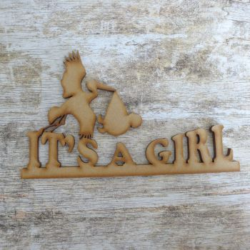 "MDF ""Its a Girl"" (042)"