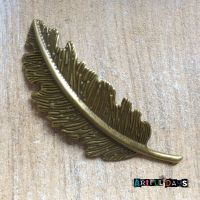 Large Bronze Feather (C001)