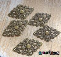 Bronze Filigree Wrap (C075)