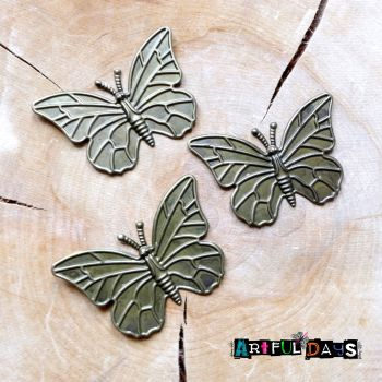 Trio of Butterflies (C078)