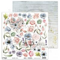 "Elements - Scrapbooking Paper 12 x 12"" - ""Gentle wind"""