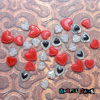 All Hearts Cabochons (CA3023)