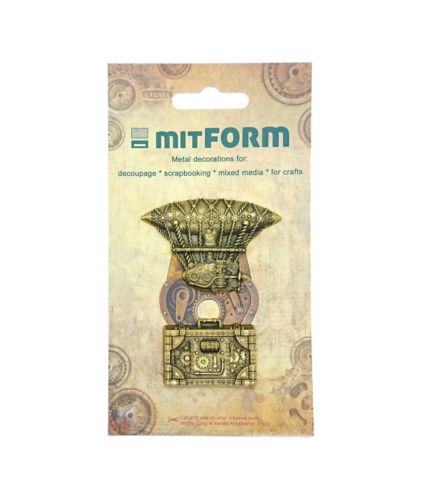 mitFORM Travel 3 Metal Embellishments (MITS051)
