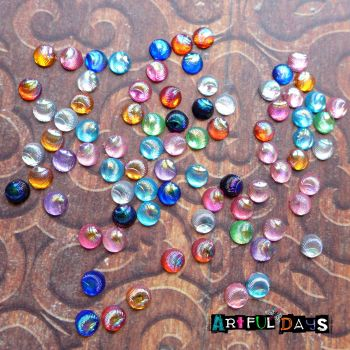 Mini Coloured Shell Jewels (CA3035)